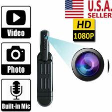 1080P HD Pocket Pen Camera Hidden Spy Mini Portable Body Video Recorder DVR New