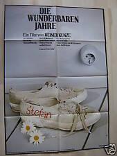 DIE WUNDERBAREN JAHRE - Reiner Kunze - Filmplakat A1