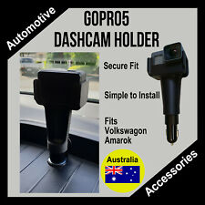 VW Amarok - Dashcam holder, Suits GoPro5+6+7 purpose built