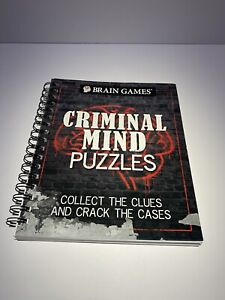 Brain Games Criminal Minds Crime-Themed Puzzles Book