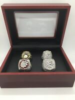 4 Pcs Chicago Blackhawks Hockey Championship Ring Stanley Cup Ring Set with Box