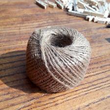30 Mètres corde de jute naturel chanvre cordage ficelle scrapbooking carte Déco