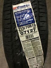 1 New 215 70 16 BFGoodrich Long Trail T/A Tour Black Wall Tire