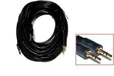 10M Klinke Audio Kabel - 2x 3,5mm Stereo Kabel - 2x 3.5mm Stereo-Klinkenstecker,
