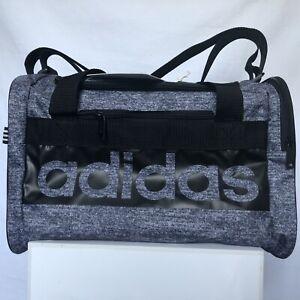 adidas Court Lite Duffel Bag, Jersey Onix/Black, Small School,  Sports Bag, 0255