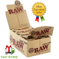 Raw Cone Perfecto Hemp & Cotton Filter Tips/Roach-Multi Listings & Free Delivery