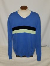 Gap Mens Size X-Large Blue Striped Long Sleeve Casual Wear Shirt Cotton