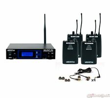 VocoPro SilentPA-IN-EAR-BAND Professional Wireless In-Ear Monitor Package