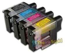 4 Cartucho de tinta LC900 Set para Brother Impresora MFC5840CN MFC620CN