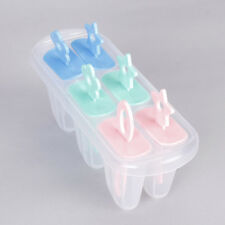 Set of 6 Ice Popsicle Maker Ice Cream Mold Freeze Pops for Party Food DIY