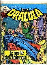 DRACULA # LE PORTE DELL'INFERNO # Anno III N.5 Agosto 1976 # Editoriale Corno