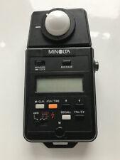 Minolta auto Meter IIIf for Flash & Ambient Light, exposure metering