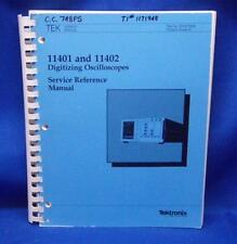 Tektronix 11401 Amp 11402 Oscilloscope Service Manual Oct 1987 070 6779 00