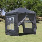 2X2m 3X3m Pop-up Gazebo Waterproof Marquee Canopy Outdoor Garden Tent CLIPOP
