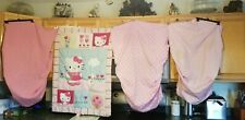 Hello Kitty Baby Crib Quilt With 3 Crib Sheets