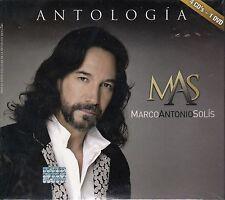 Marco Antonio Solis Antologia 4CD+DVD  New Sealed
