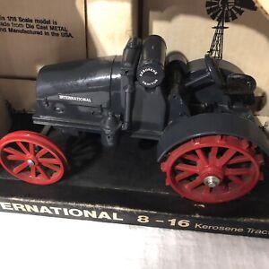 Ertl International 8-16 Kerosene Tractor Die cast Farm Replica Collectible E3