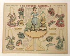 Pellerin Imagerie D'Epinal-No86 Série de Guerre-Le Bouquet National Grande model