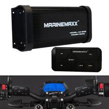 Waterproof 500W 4Channels Car Bluetooth Amplifier Marine Boat Motorcycle UTVATV
