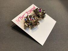 Betsey Johnson Booming Betsey 3D Flower Stud Earrings MRSP$28!