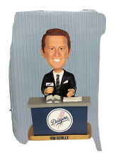 Vin Scully  Desk Bobblehead Los Angeles Dodgers From 2012