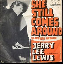 7inch JERRY LEE LEWIS she still comes around HOLLAND +PS EX/VG++