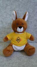 PLUSH JOEE cuddly soft toy kangaroo 25cm with removable T-shirt