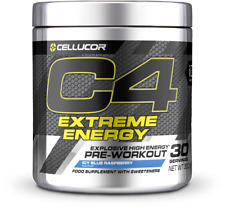 Cellucor C4 Extreme Energy 30 Servings Pre-Workout Explosive High Energy