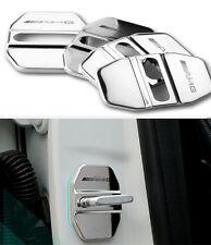 Edelstahl Car Türschlösser Schutzabdeckung Für Benz AMG B C E M S CLS GLA Klasse