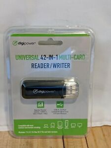 Digipower Universal 42-in-1 Multi Card Reader/ Writer DP-MCR4 New
