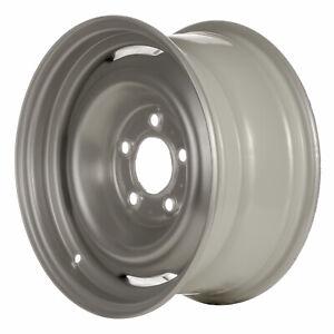 01616 Reconditioned OEM Steel wheel, 15x7 Silver 1988-1995 Chevrolet GMC C1500