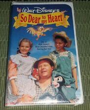 So Dear To My Heart VHS Disney Clamshell Sealed OOP Rare Mickey Goofy