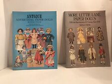 Vintage Advertising Paper Dolls and Lettie Lane Paper Dolls Books