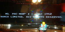 Namco Ms Pac-Man Plug + Play TV Game  Arcade Retro 5 in 1 Jakks Pacific FREE SH