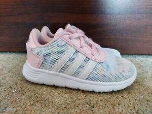 Infant Girls Adidas Trainers Size 7 Uk