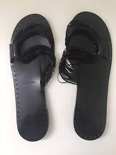 Jil Sander Black Sandals 40