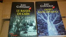 Joseph Connolly - lot : Le Baiser de Caïn + Laissez toute espérance