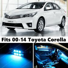 8 x Premium ICE BLUE LED Lights Interior Package Kit for Toyota Corolla