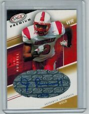 2005 SAGE J.R. RUSSELL #A28 ROOKIE AUTO GOLD 18/50 LOUISVILLE CARDINALS