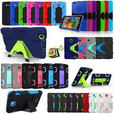 NEW Tough Shockproof Armor Combo Stand Case Cover For Samsung / LG 8 inch Tablet