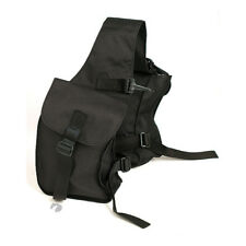 Zilco Pommel Saddle trekking Horse Trail Riding Bags black FREE POSTAGE
