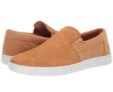 New Suede Timberland MEN'S GROVETON LEATHER SLIP-ON SHOES Wheat Nubuck