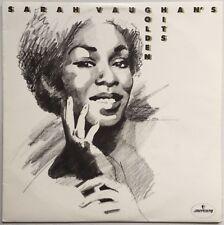 SARAH VAUGHAN Sarah Vaughan's Golden Hits 1977 OZ Mercury EX/EX