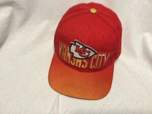 SALE PRICE Kansas City Chiefs NFL Apparel Ball Cap strap back GREAT FIND