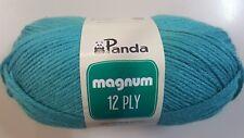 Panda Magnum 12 Ply #1017 Laguna Aqua 100g Acrylic Knitting Yarn