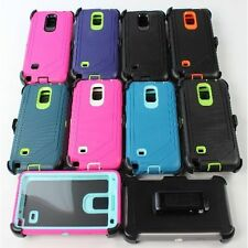 For Samsung Galaxy Note 4 Defender Case Protector Cover [Clip Fits Otterbox]