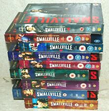 Smallville ~ Complete Series 1 to 9 ~ PAL Region 2 ~ Played through once ~ NrNew
