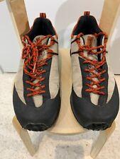 Tecnica 'MTN Approach' Mountain Approach Shoe Blue Tan Orange Sz 10.5 Vintage