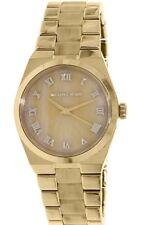 Michael Kors Channing Horn Brown Ladies Watch MK6152 Gold-Tone Stainless Steel