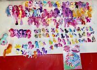 90+ My Little Pony Blind Bag Mini Figures Lot Figurines MLP Hasbro Dolls Huge